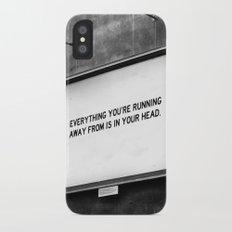 BILLBOARD FANTASIES #2 iPhone X Slim Case