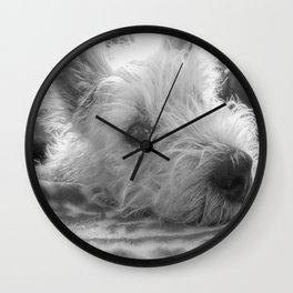 Westie puppy Wall Clock