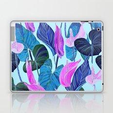 Lush Lily - cool brights Laptop & iPad Skin