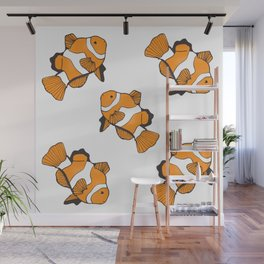 Sea-life Collection - Clownfish Wall Mural