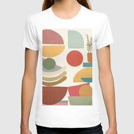 Modern Abstract Art 77 T-shirt