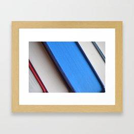 Bookish Escape Framed Art Print