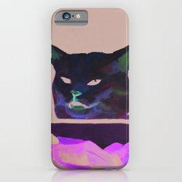 Salad Cat Meme iPhone Case