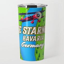 Lake Starnberg Bavaria Germany travel poster Art Print Travel Mug