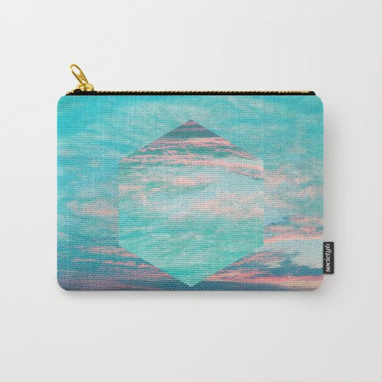 An underwater sunset Carry-All Pouch