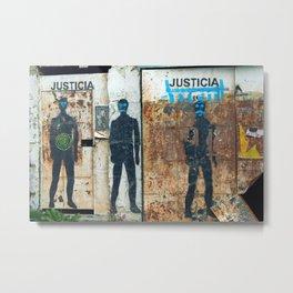 Justica Metal Print