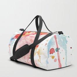 "Watercolor Painting of Picture ""Inca Cockatoo"" Duffle Bag"
