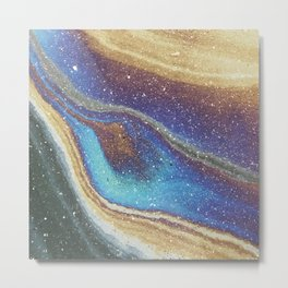Nebular Mess Metal Print