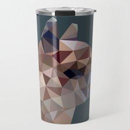 Geometric Alpaca Teddy Travel Mug