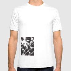 Photogram White Mens Fitted Tee MEDIUM