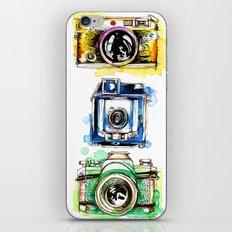 Vintage Cameras iPhone & iPod Skin