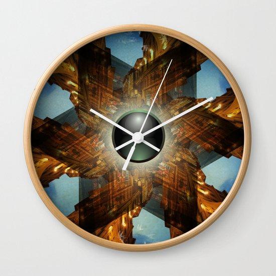 Emerald Chapel Wall Clock