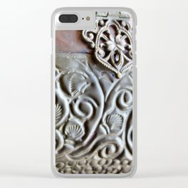 Morgaine Clear iPhone Case