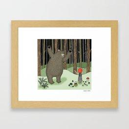 Encounter Framed Art Print