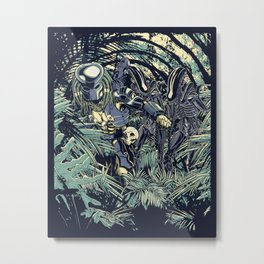 Welcome to the jungle. Metal Print