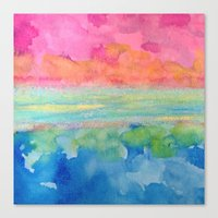 chemistry Canvas Prints featuring chemistry by Andrea Mikesell