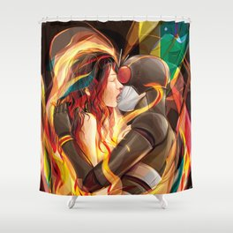 Secret Admirer Shower Curtain