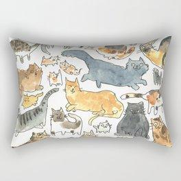 cats !!! Rectangular Pillow