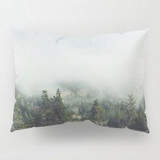 Foggy Treetops Pillow Sham