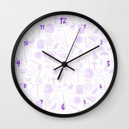 Buffy Symbology, Purple Wall Clock