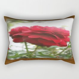 Red Rose with Light 1 Blank P3F0 Rectangular Pillow