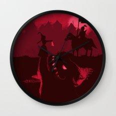 Farewell Brave Knight Wall Clock