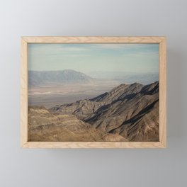 Death Valley Framed Mini Art Print