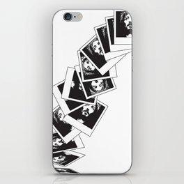Polaroid Jesus iPhone Skin