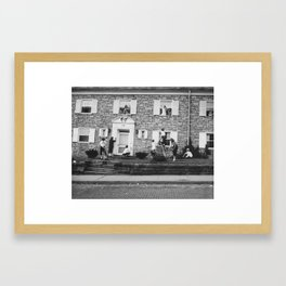 Cleaning the Chapter House Framed Art Print