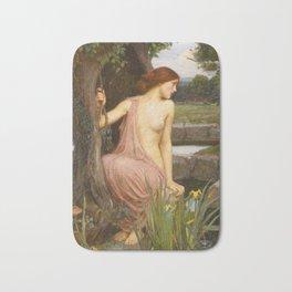 John William Waterhouse - Echo and Narcissus Bath Mat