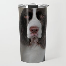 Waiting Patiently - English Springer Spaniel Travel Mug