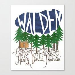 Walden (Colour) Canvas Print