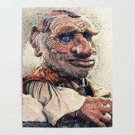 Hoggle - Labyrinth Poster