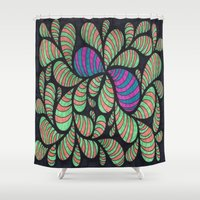 bugs Shower Curtains featuring Bugs by Sarah J Bierman