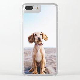 Man's Best Friend (Color) Clear iPhone Case