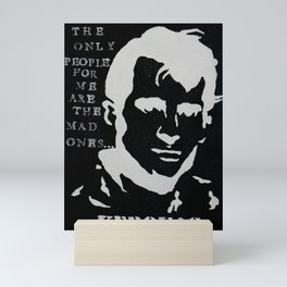 Jack Kerouac Mad Ones Quote Painting Mini Art Print