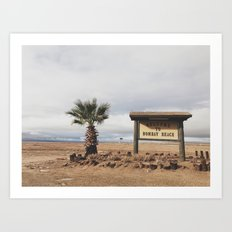 Bombay Beach Art Print