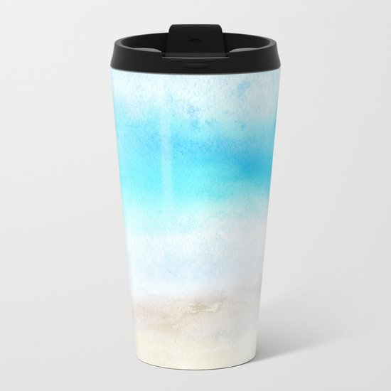 Tropical Sea #2 Metal Travel Mug