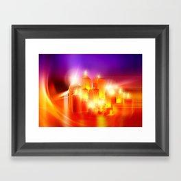 Kerzenschein Framed Art Print
