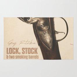 Lock, Stock and Two Smoking Barrels, Guy Ritchie, british film, Jason Statham, Dexter Fletcher Rug