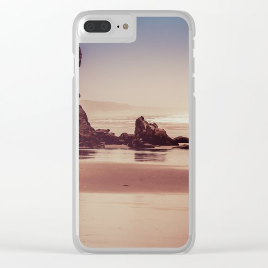 Ocean Adventure at Sunset Clear iPhone Case