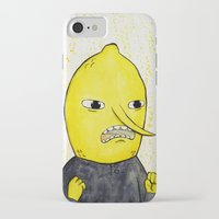 lemongrab iPhone & iPod Cases featuring Lemongrab is acceptabbbbbbbble.  by Naomi Hodgson