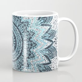 BOHOCHIC MANDALA IN BLUE Coffee Mug