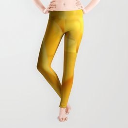 Rose yellow 258 Leggings