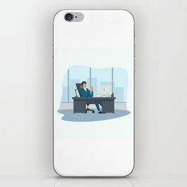 Big Boss - National Boss Day 2 iPhone Skin