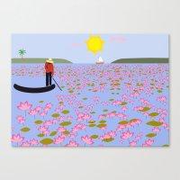 vietnam Canvas Prints featuring Vietnam by Design4u Studio