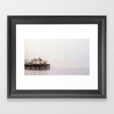 The Pier on 35mm Film Framed Art Print
