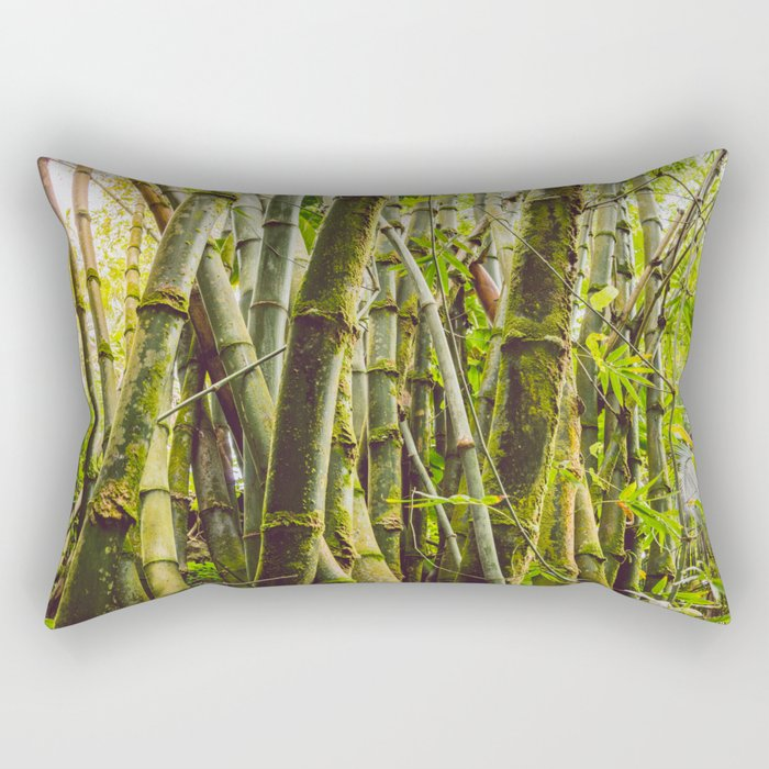 Bamboo Forest Rectangular Pillow