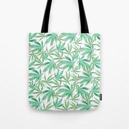 420 Leaves Tote Bag