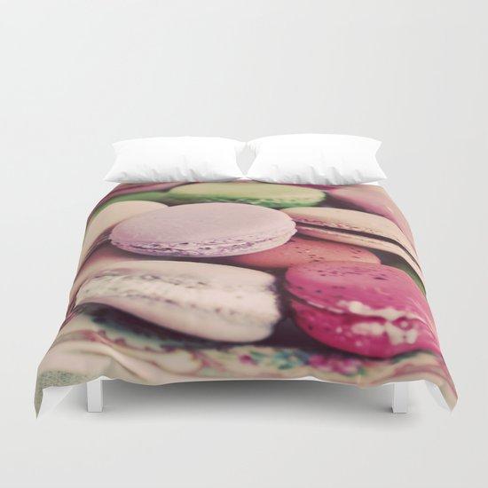 Sweet Macarons Duvet Cover